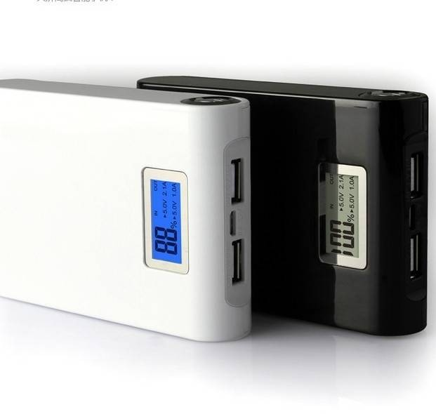 Baterie externa cu display si lanterna 20000 mAh imagine techstar.ro 2021