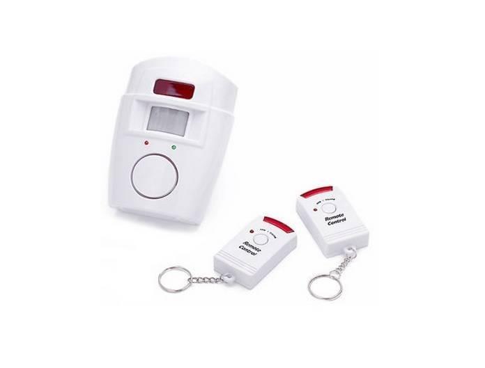 Alarma wireless cu senzor de miscare si 2 telecomenzi imagine techstar.ro 2021