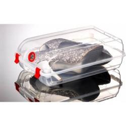 Cutie pentru depozitare pantofi, Transparenta