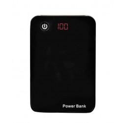Baterie externa portabila 15000 mAh cu display si 3 iesiri USB