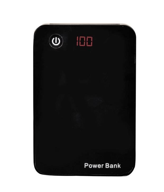 Baterie externa portabila 15000 mAh cu display si 3 iesiri USB imagine techstar.ro 2021