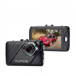Camera Video Auto Dubla T658 T658 FullHD 12MP cu unghi de 170° si Carcasa Metalica