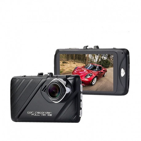 CAMERA VIDEO AUTO T619 FHD 12 MEGA PIXELI UNGHI 170° CARCASA METALICA