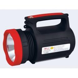 Lanterna LED 5W cu Acumulator, USB si Panou 22 LED-uri