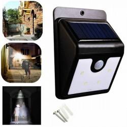 Set 3 lampi solare cu 30 LED-uri si senzor de miscare