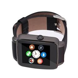 Smartwatch X6 Bluetooth Compatibil MicroSD si SIM Cu Camera Negru RESIGILAT
