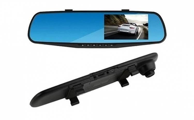Oglinda retrovizoare cu camera video, full HD imagine techstar.ro 2021