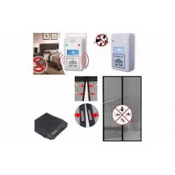 Set 2 aparate anti rozatoare + Plasa anti insecte cu inchidere magnetica