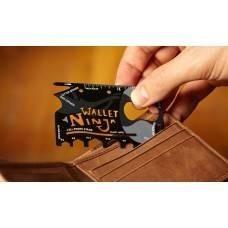 Ninja Wallet: card mutifunctional 16in1