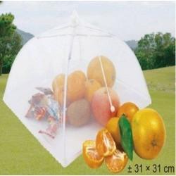 Umbrela din Plasa Pentru Alimente, Protejeaza de Insecte, 31x31cm
