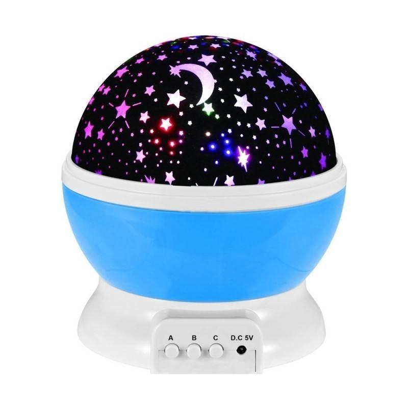Lampa de veghe cu proiector de stele rotativ imagine techstar.ro 2021
