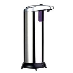Dozator metalic de sapun,cu senzor de miscare