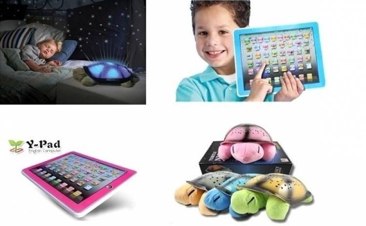 Broscuta proiector stele + Tableta educativa imagine techstar.ro 2021