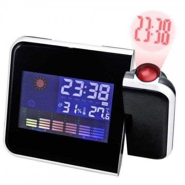 Statie meteo cu ceas si proiectie ora poza 2021
