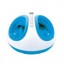 Aparat de masaj pentru picioare Shiatsu, 3 trepte intensitate, functie de incalzire, timer 5-30 min, telecoman