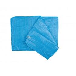 Prelata cu Inele Latime 2m, Lungime 3m, Greutate 90g/mp, Culoare Albastru