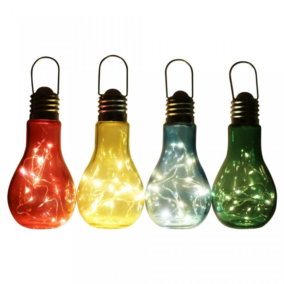 Lampa LED de gradina in forma de bec imagine techstar.ro 2021
