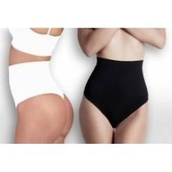 Set 2 perechi pantaloni modelatori bumbac 85% + Set 2 perechi chiloti modelatori talie inalta + cadou centura