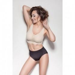 Pantalon modelator + chilot modelator cu talie inalta + bustiera modelatoare + cadou centura