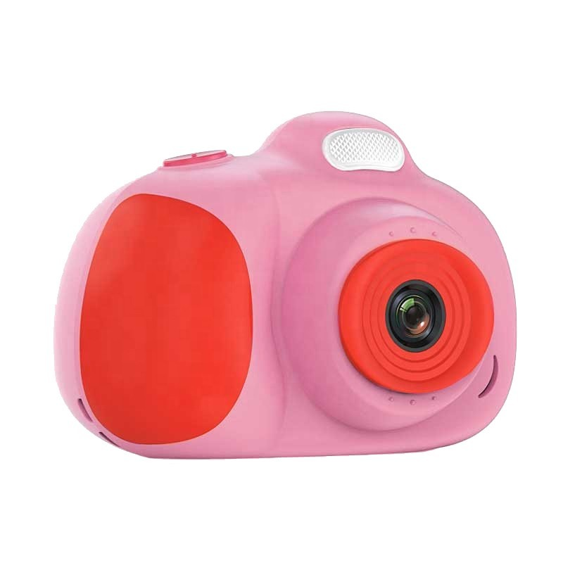 Camera foto, video Full HD, telefon, GPS Traker, Bluetooth, SOS, pentru copii, roz imagine techstar.ro 2021