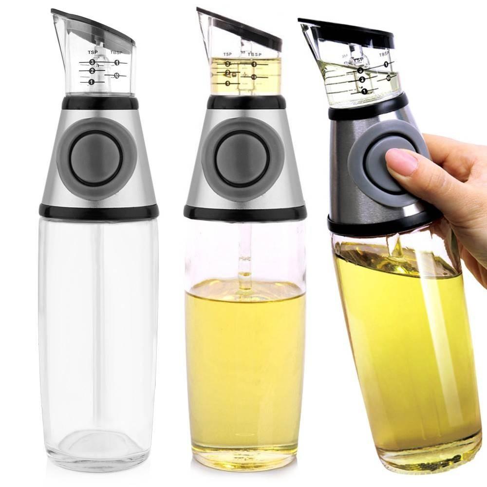 Dispenser din sticla pentru ulei si otet poza 2021
