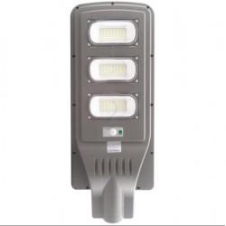 Lampa stradala 90W cu panou solar, acumulator, senzor de miscare