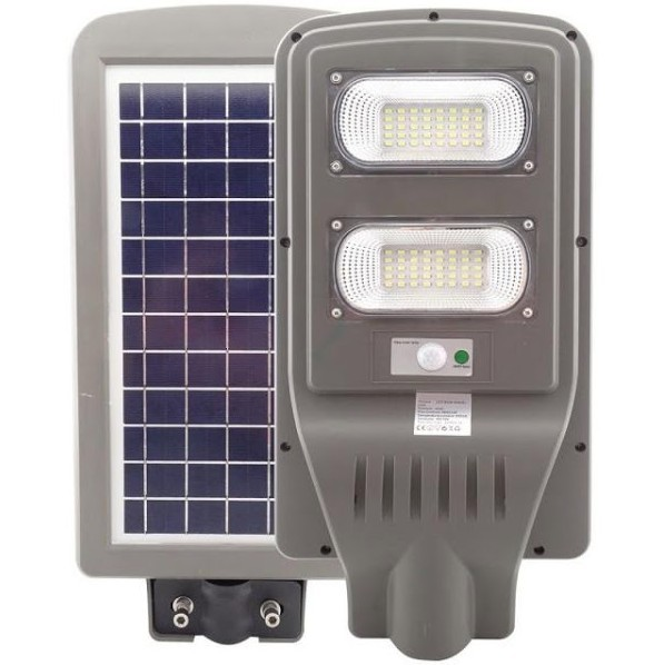 Lampa stradala 60W cu panou solar, acumulator, senzor de miscare imagine techstar.ro 2021