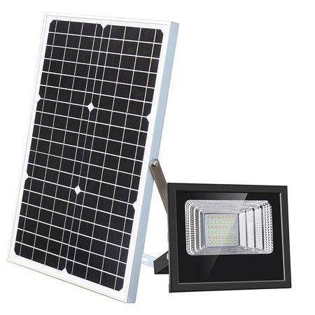 Proiector solar 200 W, panou solar, telecomanda imagine techstar.ro 2021