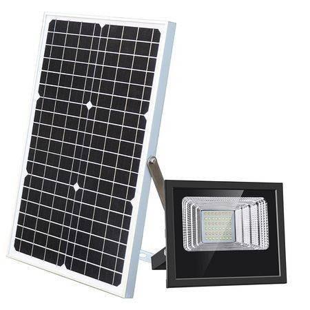 Proiector solar 60 W, panou solar, telecomanda imagine techstar.ro 2021