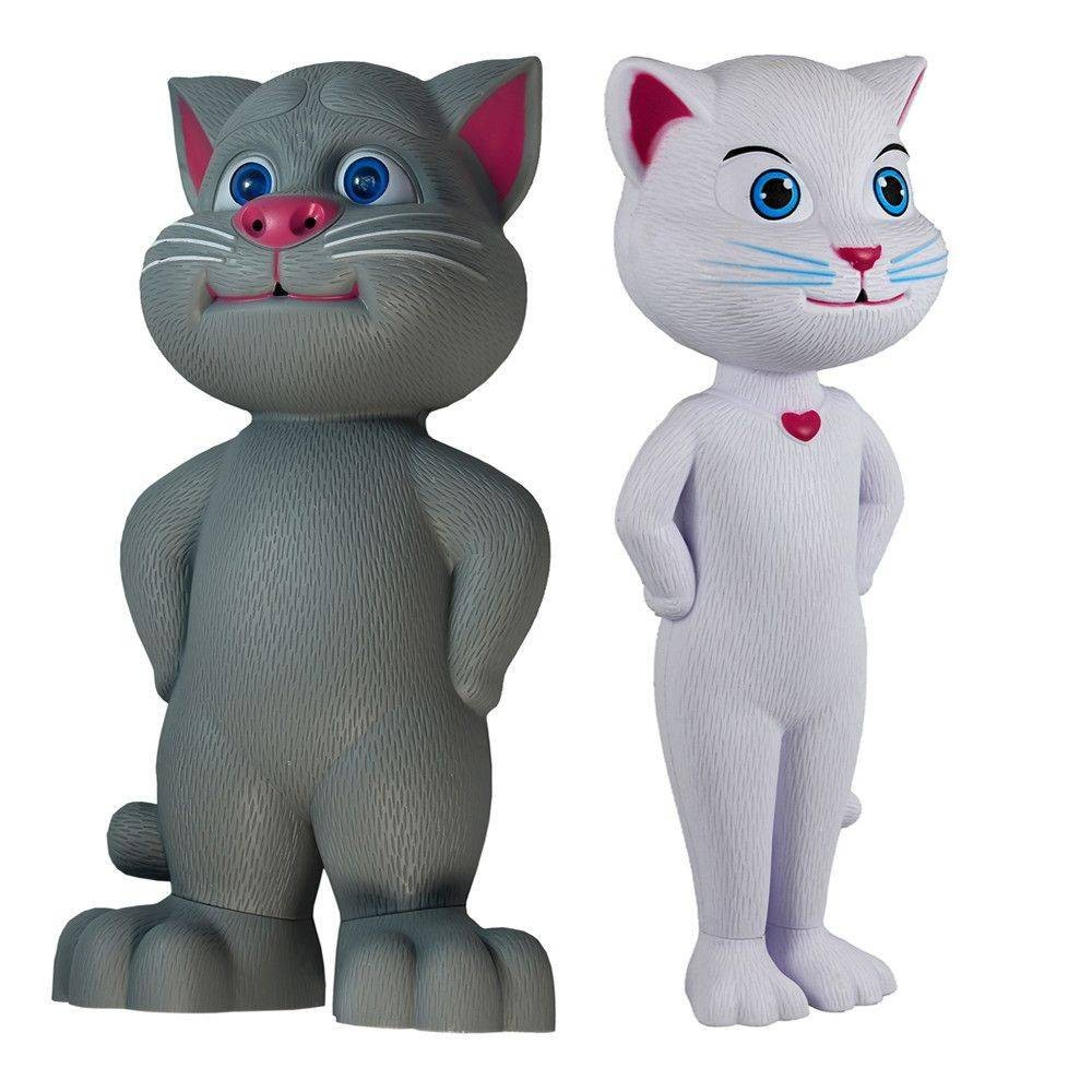 Pisicile vorbitoare Tom si Angela imagine techstar.ro 2021