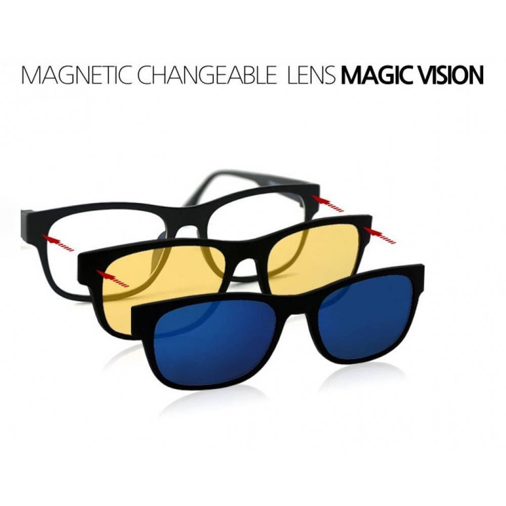 Pachet Promo 3 in 1 Ochelari cu lentile interschimbabile Magic Vision imagine techstar.ro 2021