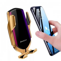 Incarcator auto wireless premium