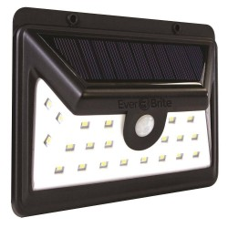 Lampa LED dubla cu incarcare solara si senzor de miscare