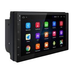 "Navigatie Auto Multimedia 7168 Techstar® 2DIN Android 8.1 GPS Radio Wi-Fi Display 7"" Quad Core MP5 Player"
