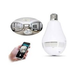 Camera Panoramica tip bec, Wireless, Wi-Fi, detector de miscare, supraveghere secreta, filmare nocturna
