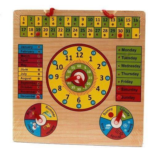 Jucarie educativa calendar, ceas, anotimpuri imagine techstar.ro 2021