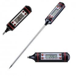 Termometru alimentar de insertie cu 4 butoane