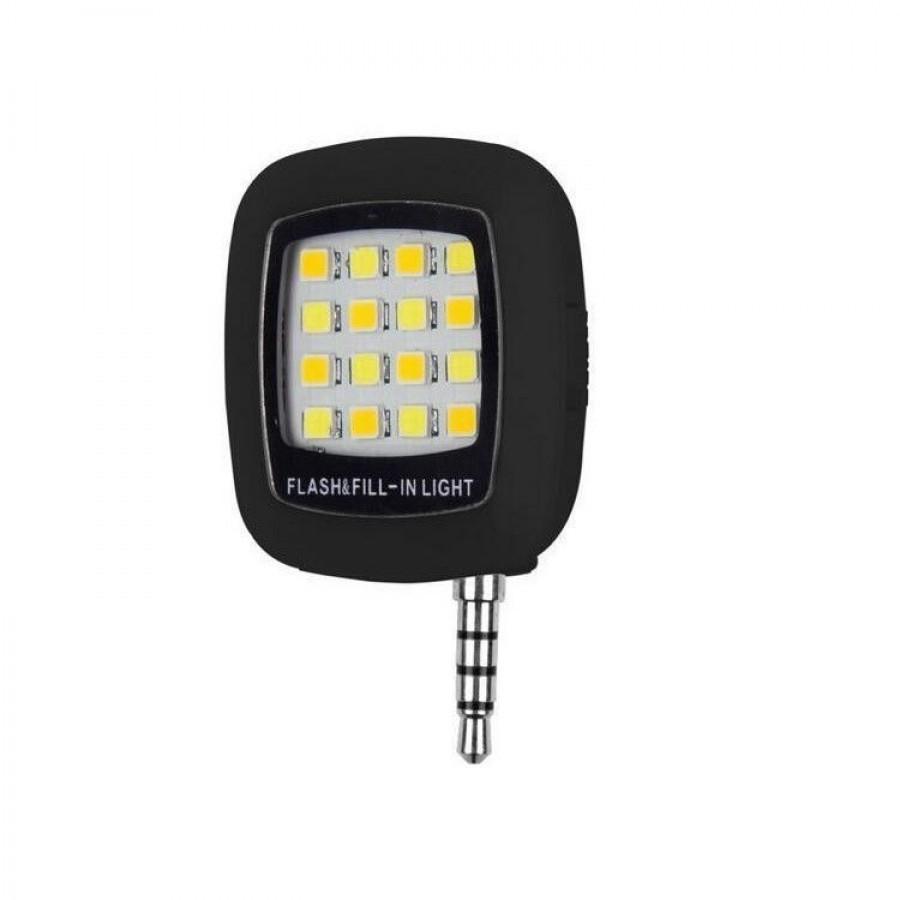Blitz pentru telefon cu 16 LED-uri si 3 trepte de luminozitate imagine