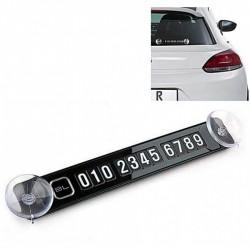 Tablita magnetica pentru numarul de telefon cu ventuze de prindere 40 de cifre