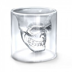 Pahar in forma de craniu 75ml Indiana Jones