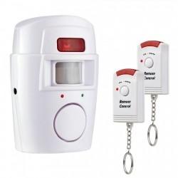 Alarma de securitate fara fir, , senzori de miscare si 2 telecomenzi