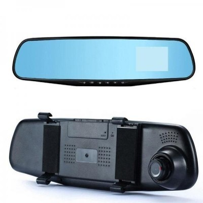 Oglinda retrovizoare cu camera video full HD 1080 p, senzor de miscare + camera marsarier imagine techstar.ro 2021
