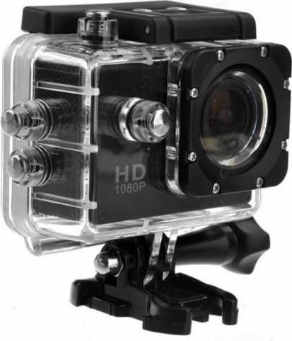 Camera Sport , Rezistenta La Apa, Adancime 30m, 2inch, 1080p, 12mpx