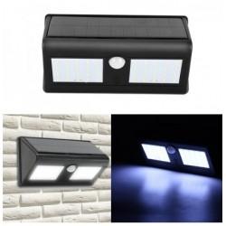 Lampa solara dubla de perete, cu senzori de miscare si 30 LED-uri