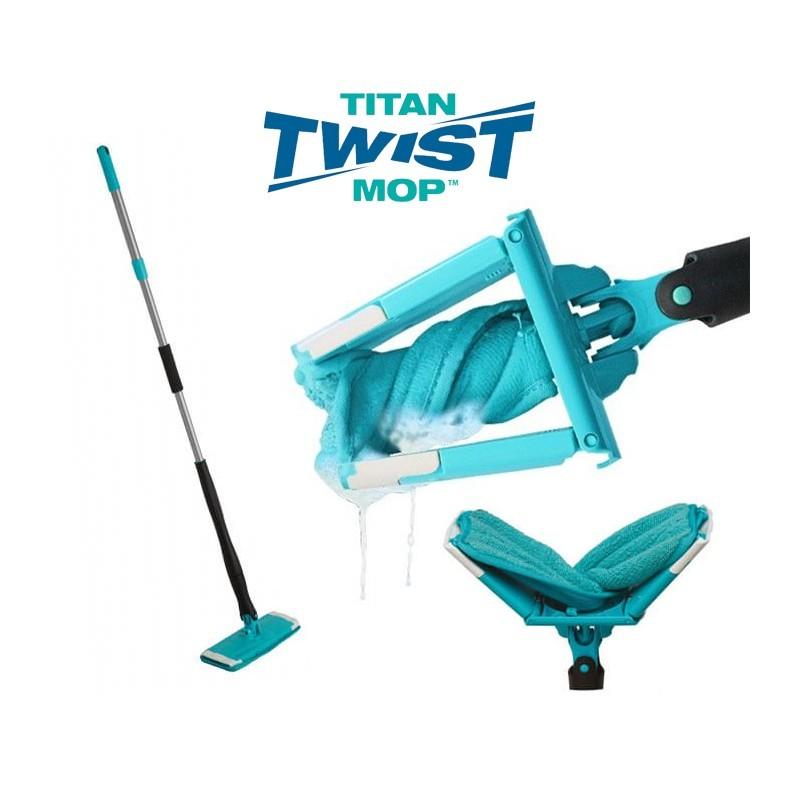 Mop cu microfibre Titan Twist imagine techstar.ro 2021