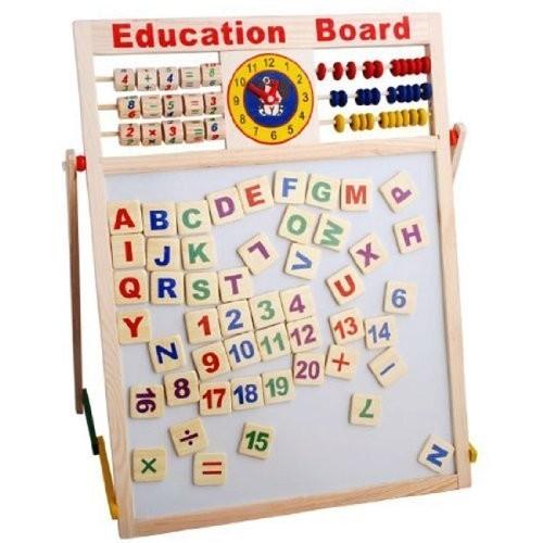 Tabla educativa de scris din lemn imagine techstar.ro 2021