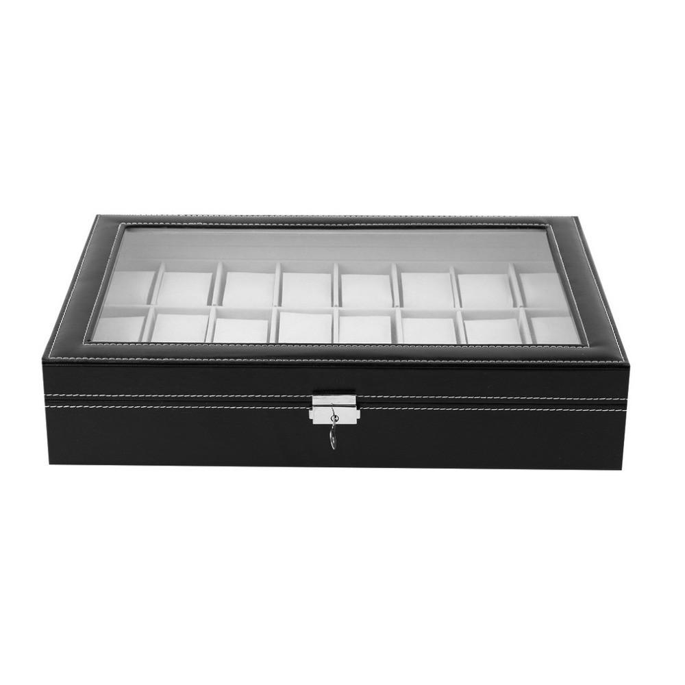 Cutie pentru depozitare 18 ceasuri bratari imagine techstar.ro 2021