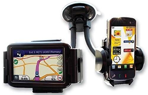 Suport auto pentru telefon dublu pentru telefon si GPS+CADOU imagine techstar.ro 2021