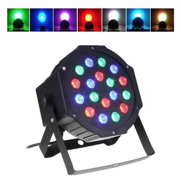 Proiector cu jocuri de lumini, 36 LED-uri RGB