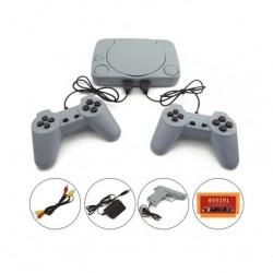 Consola de jocuri video retro cu 2 telecomenzi si pistol